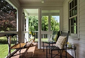 现代风格装修赏析阳台