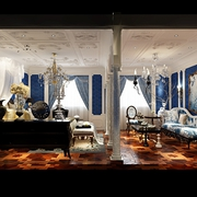 法式贵气样板间欣赏卧室摆件