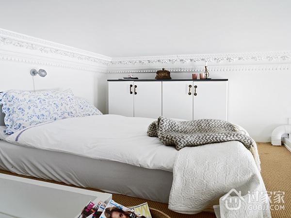白色现代风一居室欣赏卧室衣柜