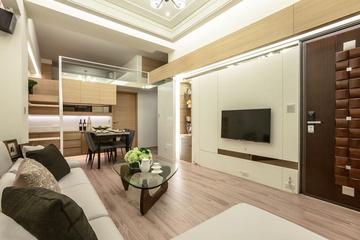 50平米简约复式住宅欣赏