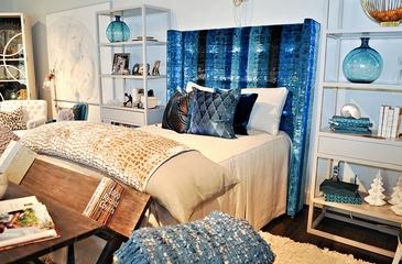 混搭风格住宅效果欣赏卧室效果图
