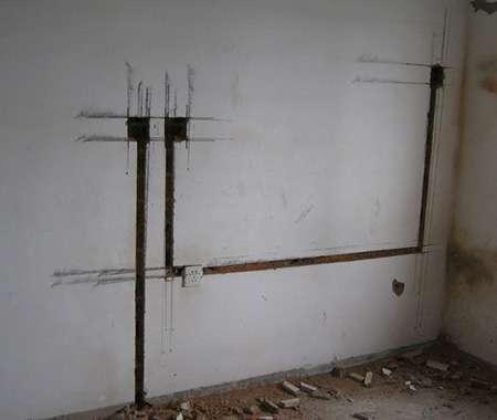 装修百科 水电改造    15,竣工后,提交一份标准详细的电路布置图.