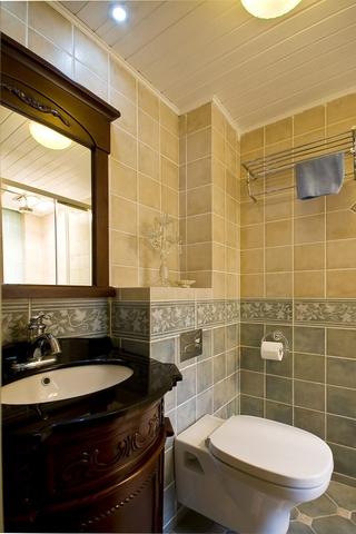 115平混搭三室两厅欣赏卫生间效果