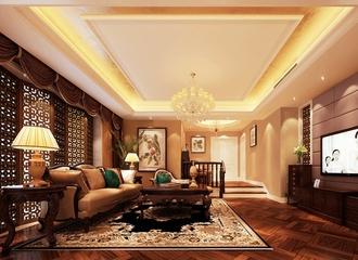 120平法式经典三居欣赏客厅设计