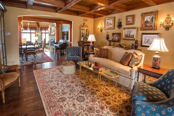 美式别墅装饰欣赏客厅