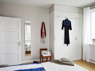 68平北欧风格住宅欣赏卧室陈设