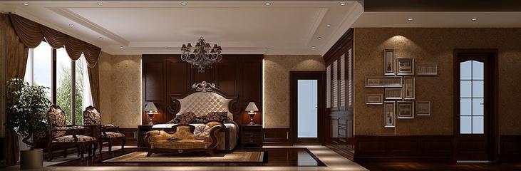 121平欧式风三居欣赏客厅窗户