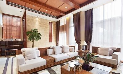 东南亚木色别墅欣赏