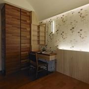 110平日式风格住宅欣赏卧室效果
