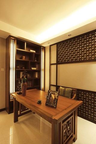 东南亚风格卧室书房