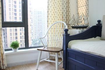 地中海小资户型住宅欣赏卧室窗户
