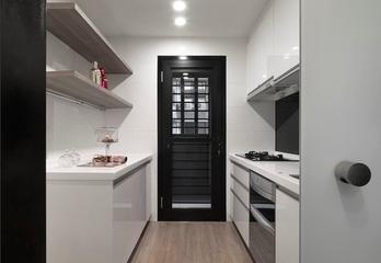 70平混搭风住宅欣赏厨房