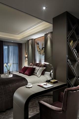 79平现代港式样板房欣赏卧室陈设