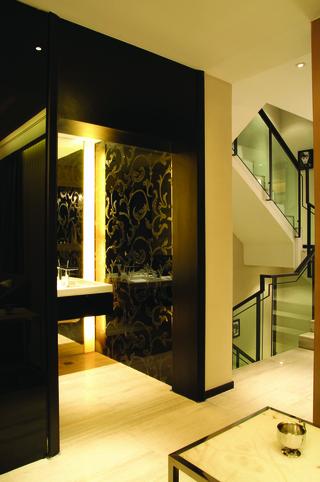 欧式风格效果图室内空间设计