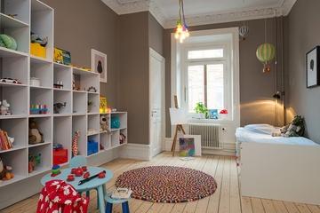 127平北欧复式住宅欣赏儿童房效果