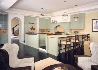 奢华欧式风套图开放厨房