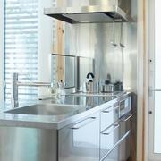 117平日式风格别墅欣赏厨房效果