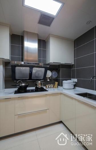 118平简约三居室案例欣赏厨房橱柜