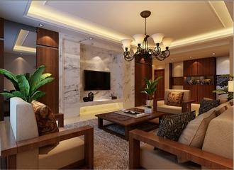 114平东南亚风格住宅欣赏
