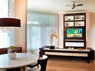 简欧室内装饰套图电视柜