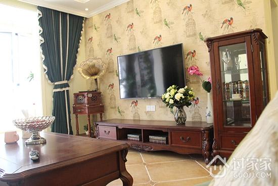 全屋美式风格新房 定制家具复古装修越住越喜欢!