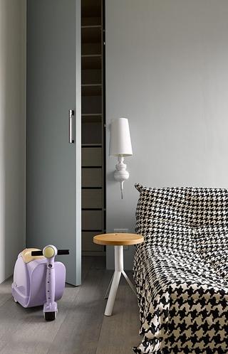 92平现代工业风住宅欣赏卧室局部