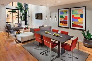 现代住宅设计图餐厅