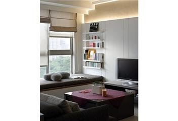 现代风格客厅飘窗设计