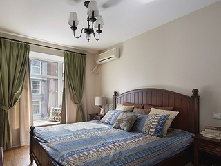 90平三室两厅住宅欣赏卧室