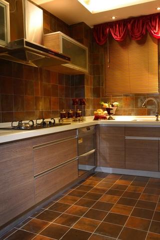 古色古香东南亚住宅欣赏厨房