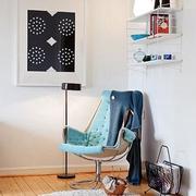 北欧40平单身公寓欣赏客厅