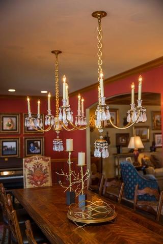 美式别墅装饰欣赏餐厅效果