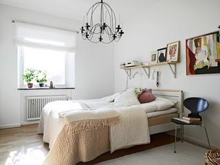 62平干净舒适宜家公寓卧室