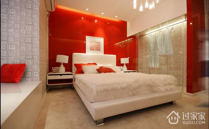 白色简约温馨住宅欣赏卧室陈设