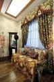 田园风格效果卧室休闲沙发