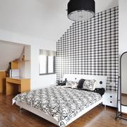 现代风格装修设计卧室背景墙效果