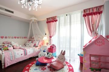 121平白色现代住宅欣赏儿童房