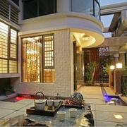 85平中式风格三居欣赏茶室