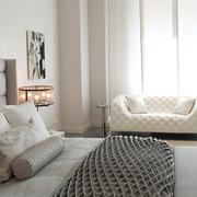 现代美式家装的清新格调卧室
