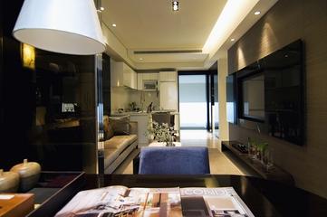 现代风格优雅住宅餐厅装修效果图设计