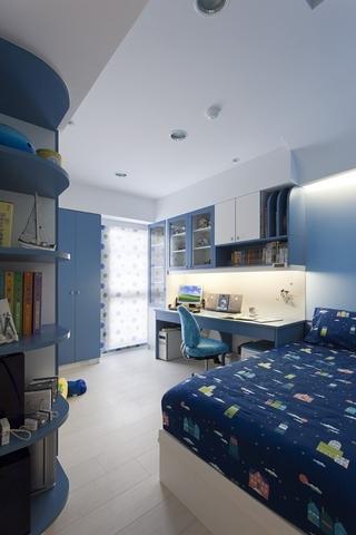 新旧融合简约住宅欣赏儿童房设计