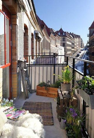 宜家风格装饰效果图阳台设计