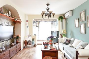 80平美式质朴两居室欣赏