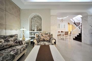 田园风格复式楼欣赏客厅设计
