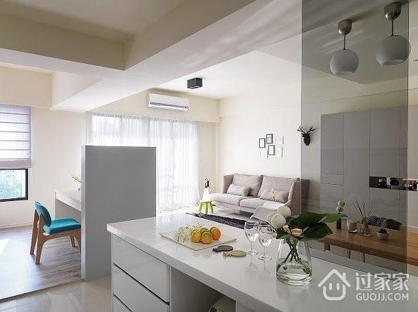 62平白色现代住宅欣赏