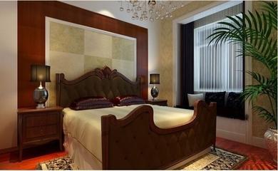 暖色调混搭风格两居欣赏卧室陈设