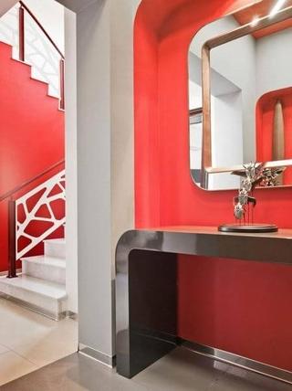 超前现代风设计欣赏洗手间
