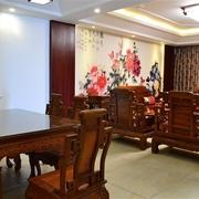 韵味中式住宅欣赏餐厅餐桌