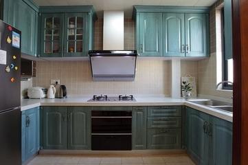 113平混搭时尚住宅欣赏厨房
