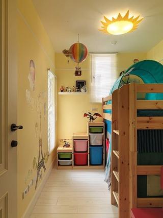 田园风格温馨效果欣赏儿童房